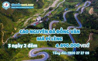 Tour Cao Nguyên Đá Đồng Văn - Mã Pì Lèng 3 ngày 2 đêm