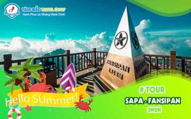 Tour du lịch Sapa - chinh phục đỉnh Fansipan 3 ngày 2 đêm