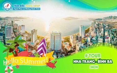 Tour du lịch Nha Trang - Bình Ba  - VinWonder - 3N3Đ