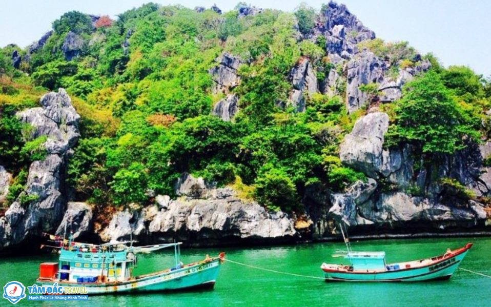 Du Lịch Hòn Nghệ 2N2Đ | Hòn Nghệ - Kiên Giang - Tâm Đắc Travel Group
